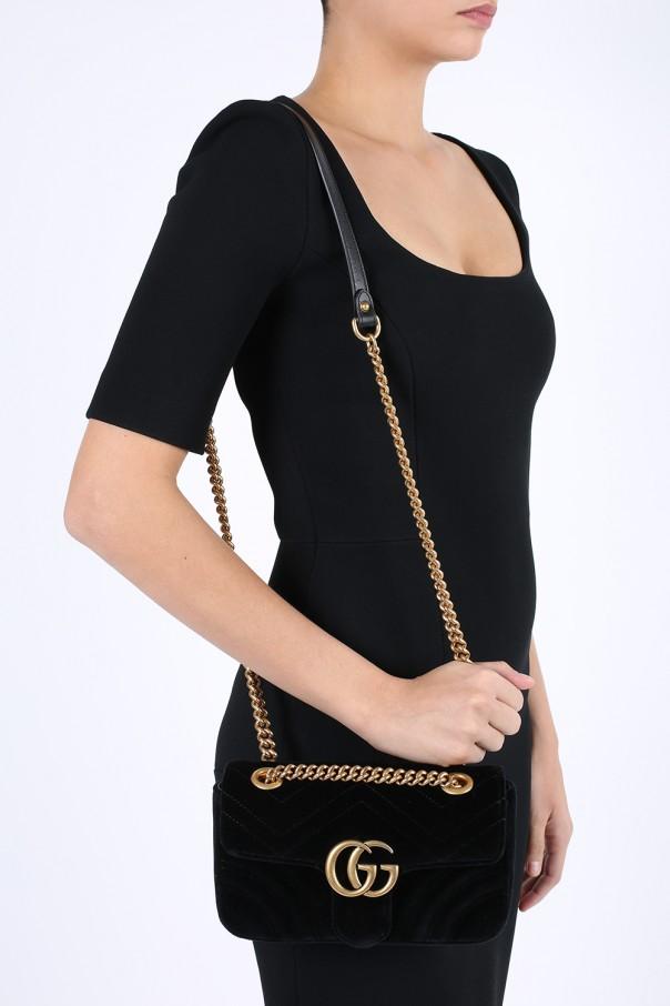 8f933eb7 GG Marmont' velvet shoulder bag Gucci - Vitkac shop online