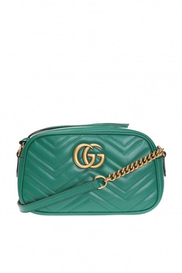 308093ba54f256 GG Marmont' quilted shoulder bag Gucci - Vitkac shop online