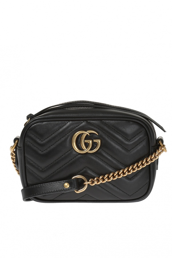 b02c71b24832 GG Marmont' quilted shoulder bag Gucci - Vitkac shop online