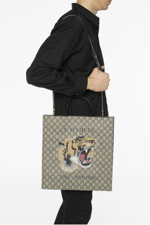 Printed shoulder bag od Gucci