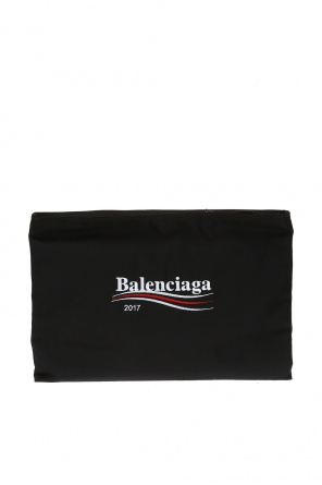 Logo-embroidered hand bag od Balenciaga