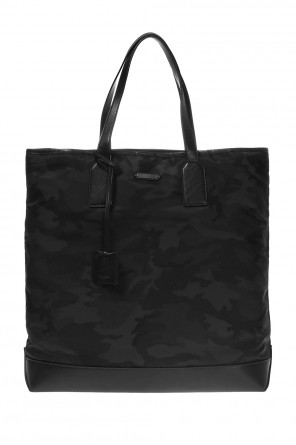 Camo shopper bag od Saint Laurent