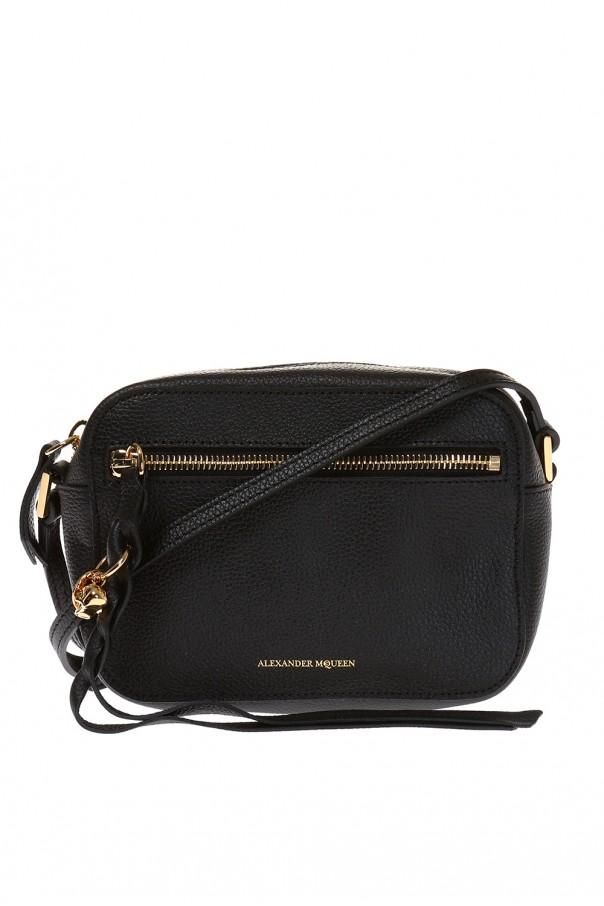 Braided fringe shoulder bag od Alexander McQueen