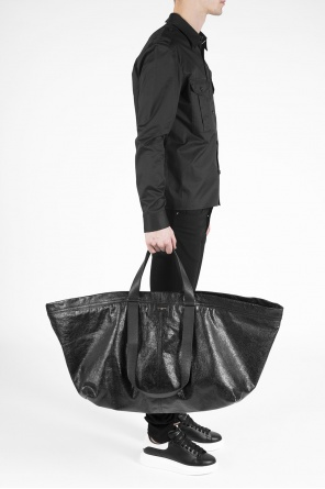 Leather holdall od Balenciaga