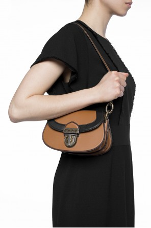 Leather hand bag od Bottega Veneta