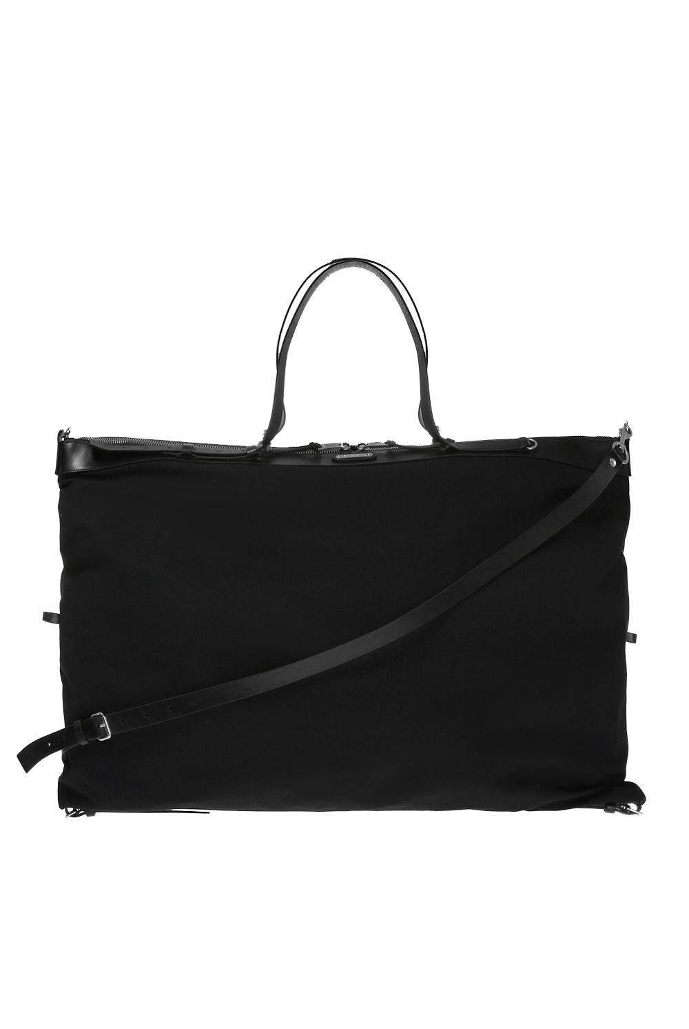 Saint Laurent Logo-embossed shoulder bag