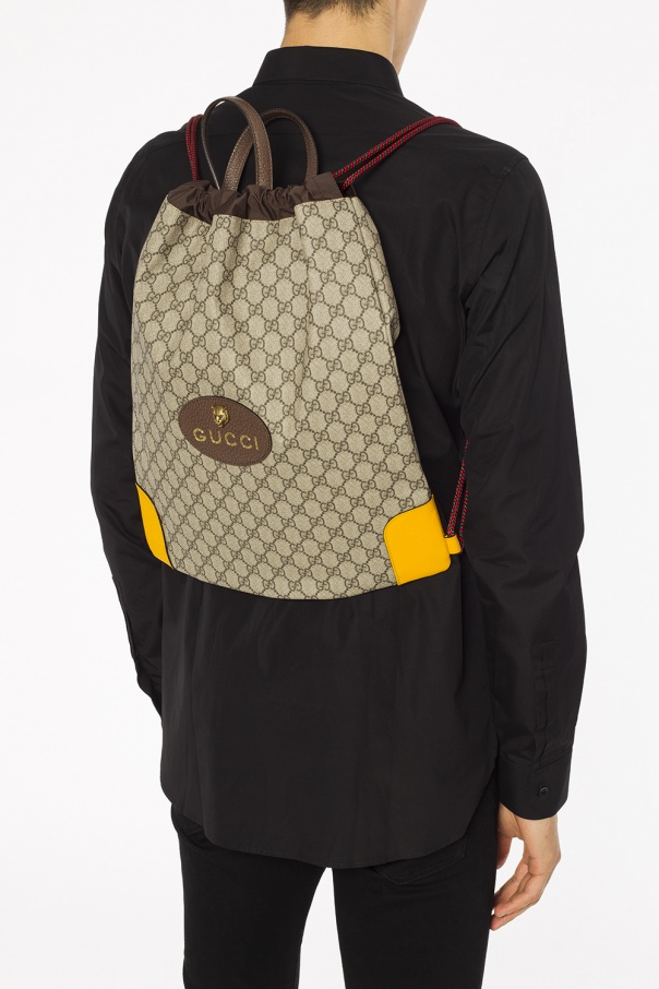 8a0ea4438f6 GG Supreme  canvas backpack Gucci - Vitkac shop online