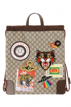 'gg original' canvas backpack od Gucci