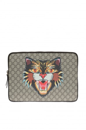 Printed laptop case od Gucci
