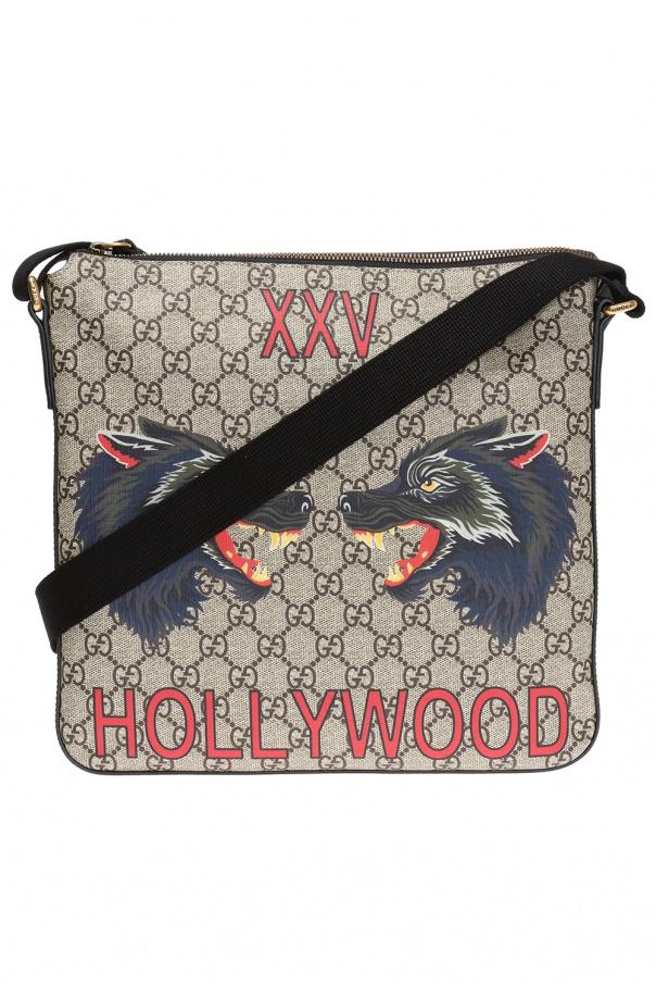 GG Supreme  canvas shoulder bag Gucci - Vitkac shop online 99e6f911ad79c