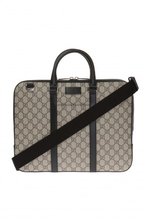 Logo-embossed briefcase od Gucci