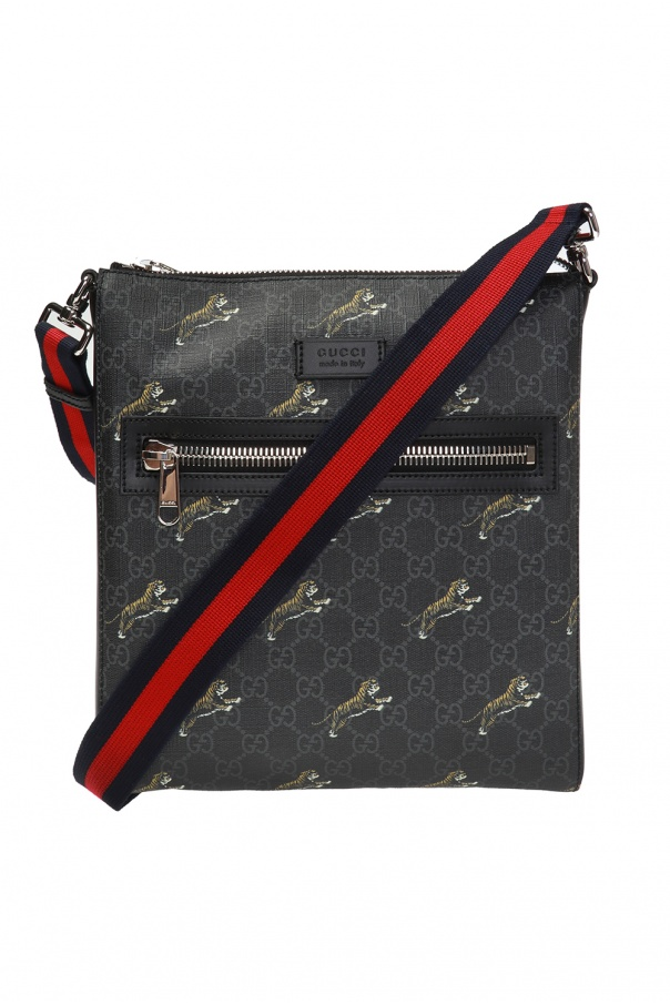 Gucci Tiger motif shoulder bag