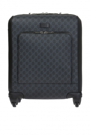 'gg supreme' canvas suitcase od Gucci