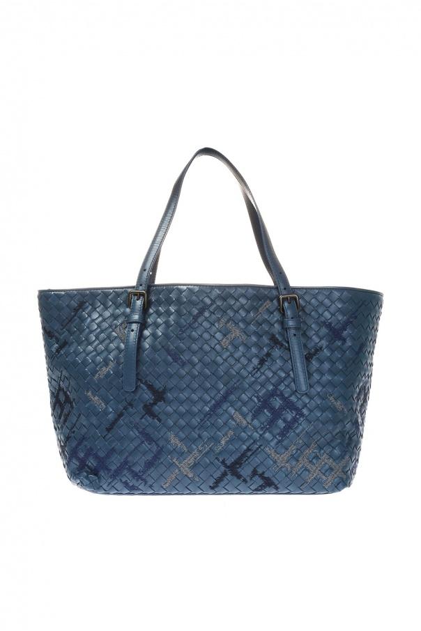 8431591912865 Pleciona torba typu 'shopper' Bottega Veneta - sklep internetowy Vitkac