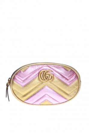 'gg marmont' quilted belt bag od Gucci