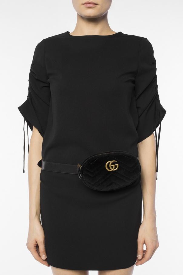 d40f973a3d GG Marmont' velvet belt bag Gucci - Vitkac shop online