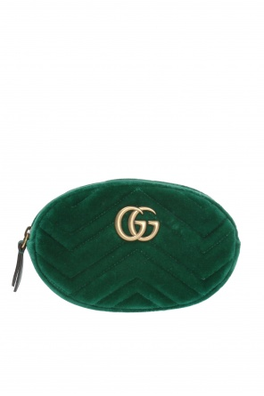 'gg marmont' velvet belt bag od Gucci