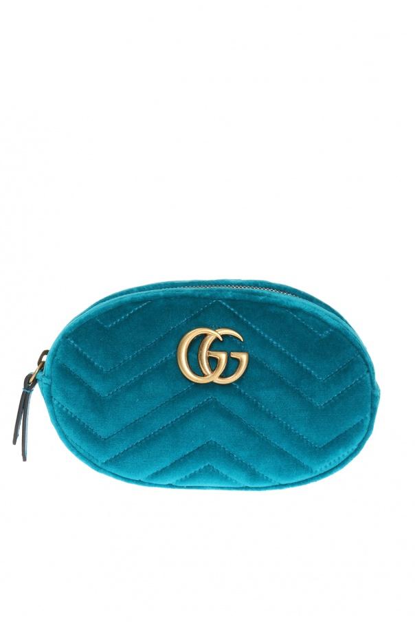6669940625e GG Marmont  velvet belt bag Gucci - Vitkac shop online