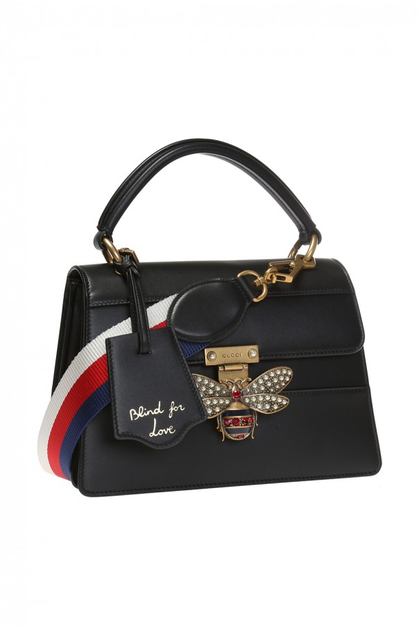 6eb893405c60 Queen Margaret' shoulder bag with a bee motif Gucci - Vitkac shop online