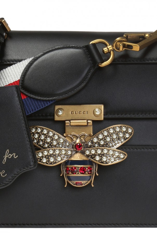 10a35727695 Queen Margaret  shoulder bag with a bee motif Gucci - Vitkac shop online