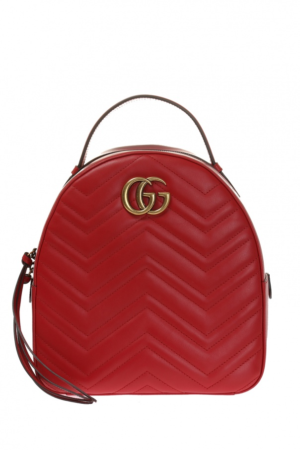 2fb10f483d1 GG Marmont  quilted backpack Gucci - Vitkac shop online