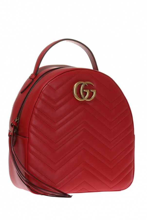 d6c3adac94e GG Marmont  quilted backpack Gucci - Vitkac shop online