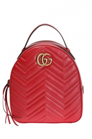 'gg marmont' backpack od Gucci