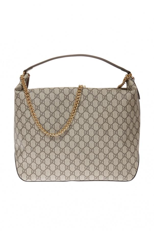 a6504b547 GG Supreme' canvas shoulder bag Gucci - Vitkac shop online