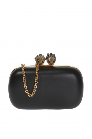 'queen and king' clutch od Alexander McQueen