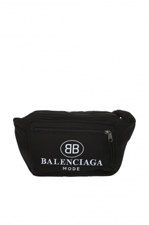 Waist bag with a logo od Balenciaga