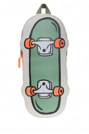 Skateboard motif backpack od Stella McCartney Kids