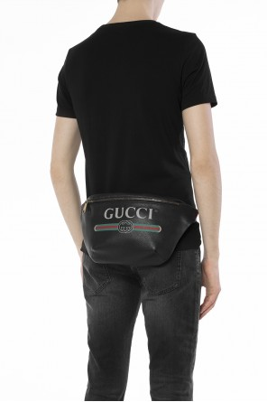 Logo-printed belt bag od Gucci