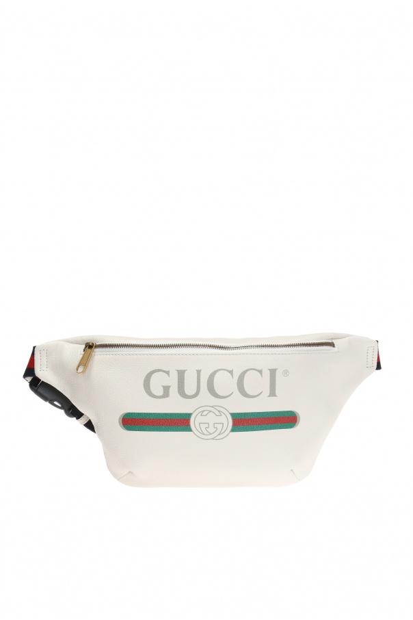 f67d564fbe7 Logo-printed belt bag Gucci - Vitkac shop online