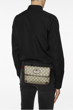 'gg supreme' canvas belt bag od Gucci