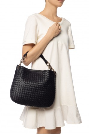'intrecciato' pattern shoulder bag od Bottega Veneta