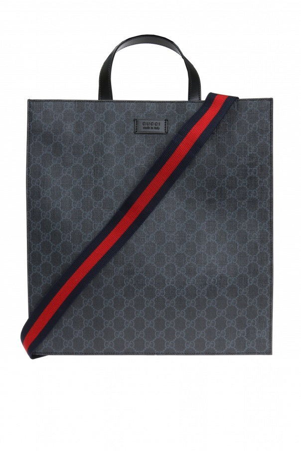 Gucci 'GG Supreme' canvas shoulder bag