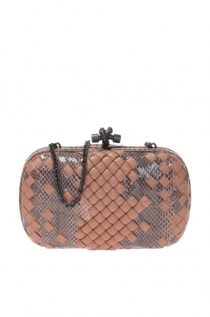 Clutch on chain od Bottega Veneta