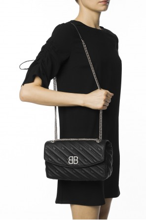 Logo-embroidered shoulder bag od Balenciaga