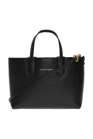 Logo-embossed shopper bag od Alexander McQueen