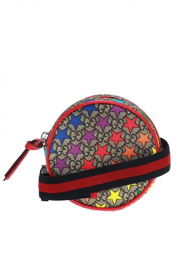 26466ab376b1e5 GG Supreme' canvas round waist bag Gucci Kids - Vitkac shop online