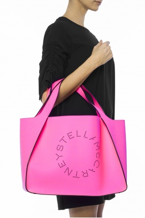 Torba typu 'shopper' z logo od Stella McCartney