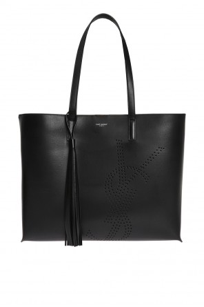 Perforated shopper bag od Saint Laurent