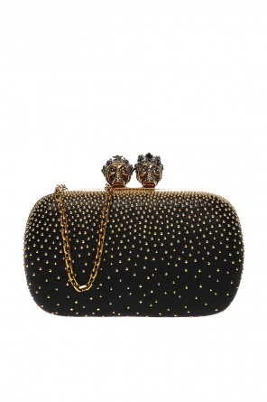 Shoulder bag with swarovski crystals od Alexander McQueen