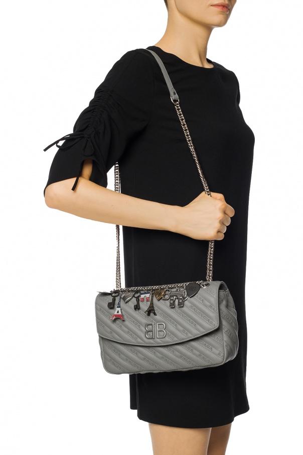 b48f4140ad3b77 BB Round' shoulder bag Balenciaga - Vitkac shop online