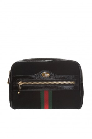 'ophidia' belt bag with 'web' od Gucci