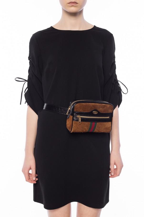932661225cc Ophidia  suede belt bag Gucci - Vitkac shop online