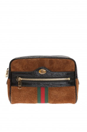 'ophidia' suede belt bag od Gucci