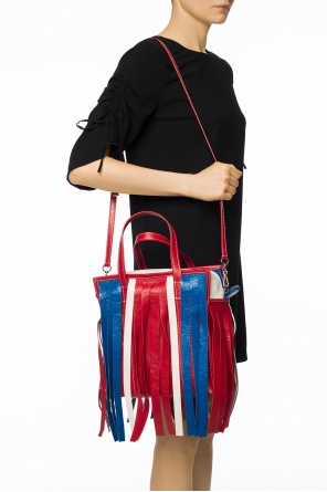 Fringed shoulder bag od Balenciaga