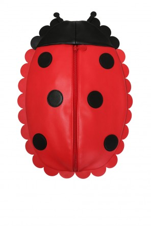 Ladybug motif backpack od Stella McCartney Kids