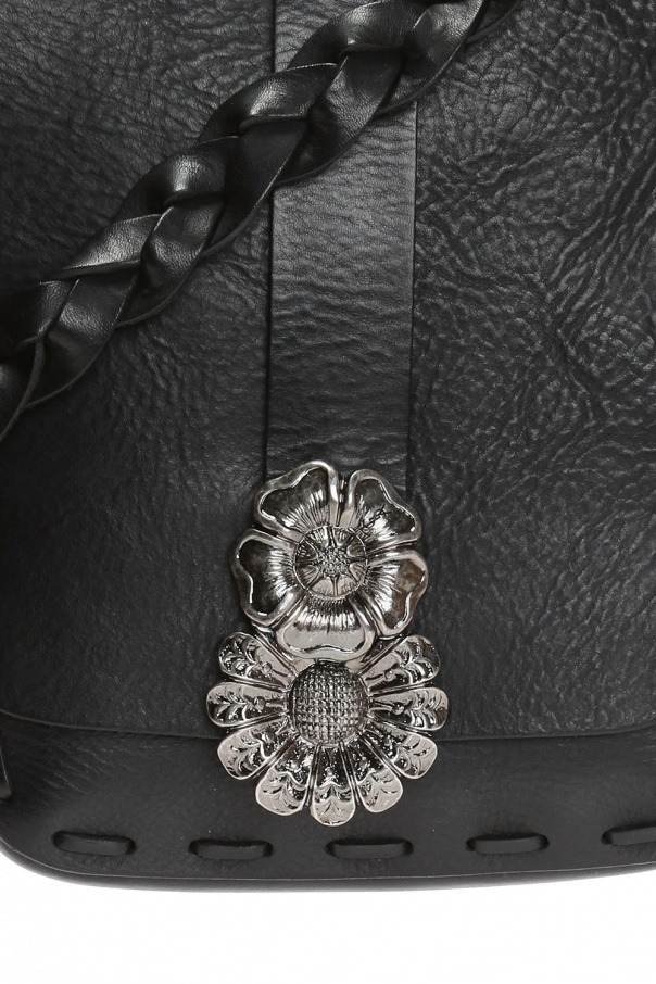 1430545ee22 Floral motif shoulder bag Saint Laurent - Vitkac shop online